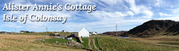 Alister Annie's Cottage, Isle of Colonsay